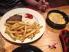 Steak, Fries and Macaroni ´n` Cheese